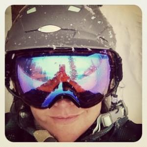 d ski close up
