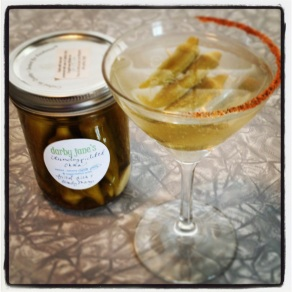 pickle okra_martini