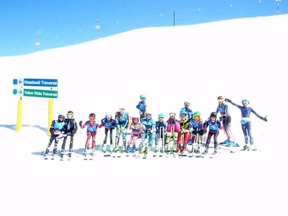 Thanks to Brighton Ski Team for this great photo of the racers!