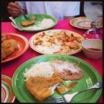 Battered and fried fresh mackerel, grilled shrimp, and huge margaritas at Maro's Shrimp House.