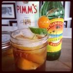 Pimm's Cup.  Brilliant!