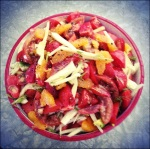 Watermelon-Tomato & Fennel Salad