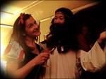 Snow White and Sexy Jesus (aka my gals Sazerac and Saketini) - Halloween 2013