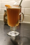 Hot Buttered Rum.  Yeah, baby.