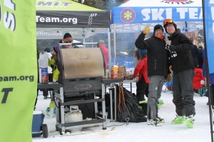 "Summit Ski Team's fantastic ""GrillSki"" [patent pending, I'm sure]."