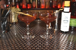Manhattans at Bar X