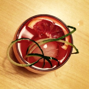 The Resolution Get more fruit and veggies in your glass along with that gin!