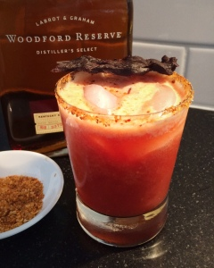 The Belle and Bull: a Bourbon Bloody Mary with a kick